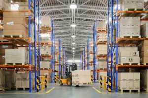 Almacén logístico de mallasdefibradevidrio.com